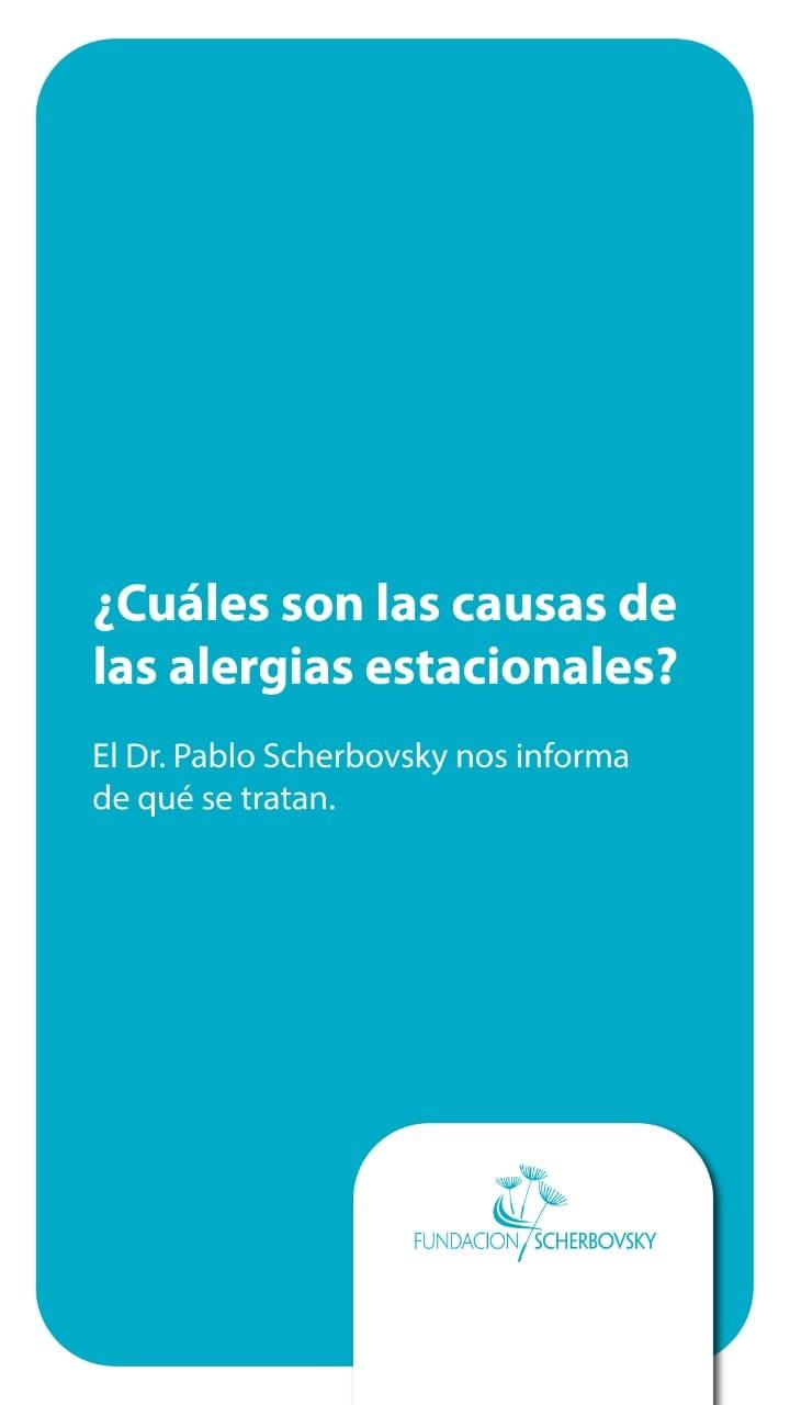 ¿Cuáles son las causas de las alergias estacionales?